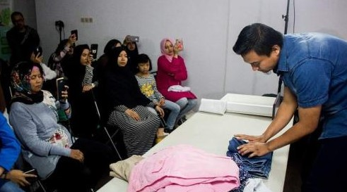 Komunitas gemar rapi Indonesia ide berbenah zaman now